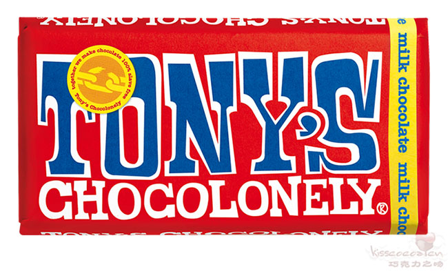 TONY'S CHOCOLONELY 托尼的寂寞巧克力 32%可可含量 牛奶巧克力 180克